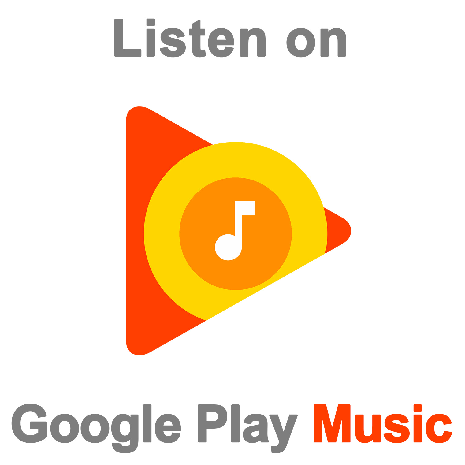 Listen on Google Play Music
